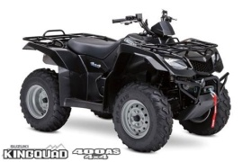 SUZUKI KingQuad 400 AS Anniversary Edition (2008 - 2009)