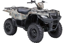 SUZUKI KingQuad 500AXi Power Steering Camo (2009 - 2010)