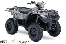 SUZUKI KingQuad 750AXi Power Steering Camo (2008 - 2009)