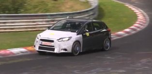 2016 ford focus rs spied on the nurburgring fwd for the win video autoevolution. Black Bedroom Furniture Sets. Home Design Ideas