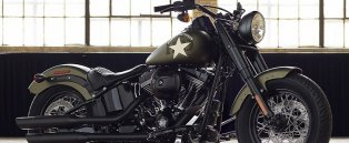 2016 Harley-Davidson Softail Slim S Shows Authentic Retro Military Styling -  Photo Gallery