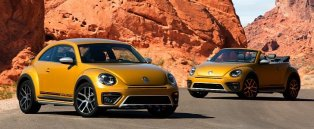 2017 Volkswagen Beetle Dune Revealed at LA Auto Show, Available as a Cabriolet - Photo Gallery