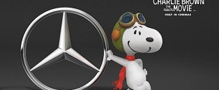 Charlie Brown And Snoopy Will Drive A Mercedes Benz V Class For Their New Movie