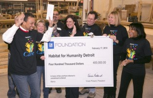 Gm foundation donates 1 million to detroit charities for Charity motors in detroit michigan