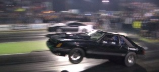 Mustang Does Two Wheelies, Wins Camaro Drag Race Like a Douchebag [Video]