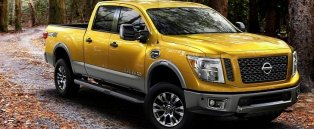 the 2016 nissan titan diesel can tow a massive 12 314 pounds. Black Bedroom Furniture Sets. Home Design Ideas