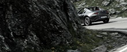 Age of Enlightenment With a Mazda MX-5 RF on The Transfagarasan