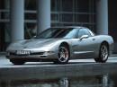 La representación de Chevrolet Corvette se identifica como un RX-7