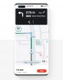 Mapas de pétalos de Huawei