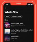 El feed de novedades en Spotify