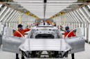 Pre-production of the new Volvo S90 in the Daqing manufacturing plant