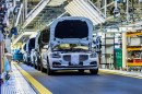 Volvo manufacturing plant in Daqing, China