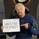 Richard Branson offers two spots on a 2022 flight to space for free, as part of Omaze raffle