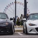 Pandem Mazda MX-5 Sits Low on Nissan 370Z Wheels