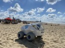 BeachBot 或 BB 正在使用 AI 检测并清除海滩上的烟头