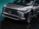 Toyota bZ4X Concept unveiled at Auto Shanghai 2021