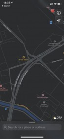 Apple Maps on iPhone