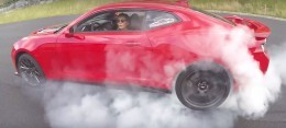 2018 Chevrolet Camaro ZL1 Rendering Throws Knives at the Hellcat - autoevolution