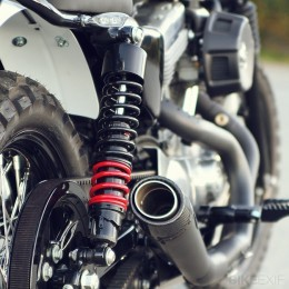 A Harley Davidson Sportster Scrambler Yes Please