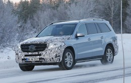 Mercedes Benz Gls Spied Why This Gl Facelift Should Have An All New Interior Autoevolution
