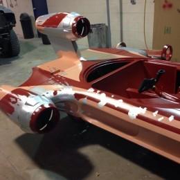 Star Wars Landspeeder Built from Scratch Is Nerdalicious ...