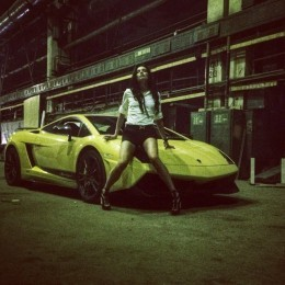 Ukrainian Playboy Model And Racer Inessa Tushkanova Is
