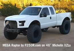 What F-150 Raptor? Here's The F-250 MegaRaptor ...