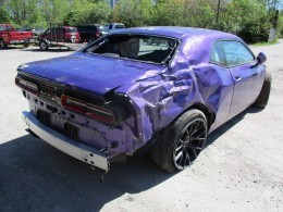 Rusty Wrap Dodge Challenger Hellcat Looks Like A Muscle