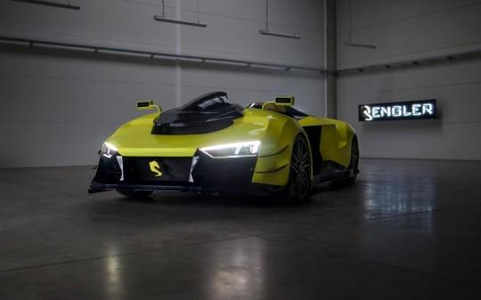 The Lamborghini-Powered 1,110 hp Engler FF.. the World's First Superquad