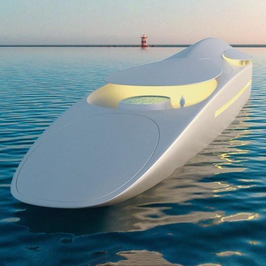 Projet L, le superyacht hybride qui ne ressemble à aucun autre