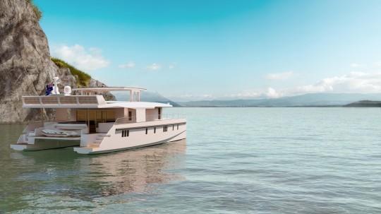 Serenity 74 - la navigation à l'énergie solaire comme un luxe ultime