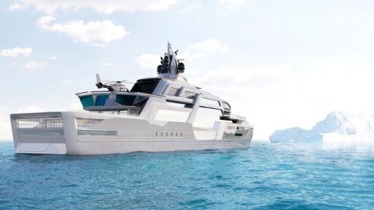 Stormbreaker Concept, le Megayacht Hybride Ultime