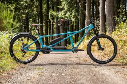 The Long Lost Mythical Tandem Bike Has Been Resurrected with Electric Power