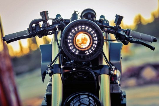 This Custom 1984 Honda CBX750 Is Almost an Entirely New Bike