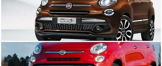 2018 fiat 500l updated with 40 new parts autoevolution. Black Bedroom Furniture Sets. Home Design Ideas