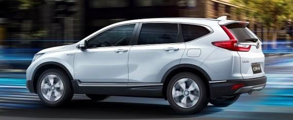 2018 honda cr v hybrid revealed at auto shanghai 2017 autoevolution. Black Bedroom Furniture Sets. Home Design Ideas
