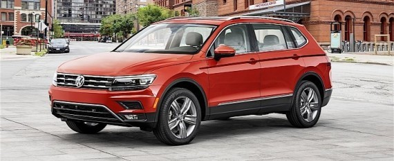 u s spec 2018 volkswagen tiguan gets extended wheelbase version as standard autoevolution. Black Bedroom Furniture Sets. Home Design Ideas