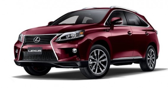 canada offering lexus rx sportdesign version as standard autoevolution. Black Bedroom Furniture Sets. Home Design Ideas