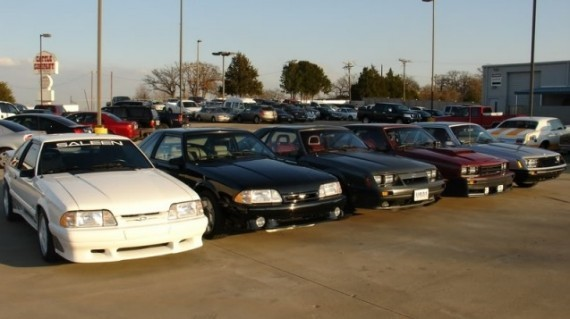 fox body mustang collection up for sale in dallas autoevolution. Black Bedroom Furniture Sets. Home Design Ideas