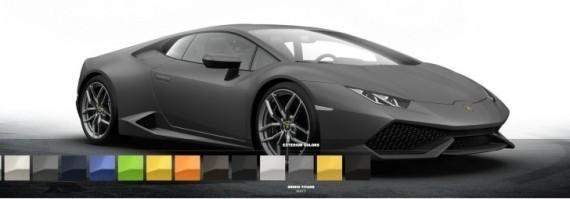 lamborghini huracan configurator brings five matt colors autoevolution. Black Bedroom Furniture Sets. Home Design Ideas