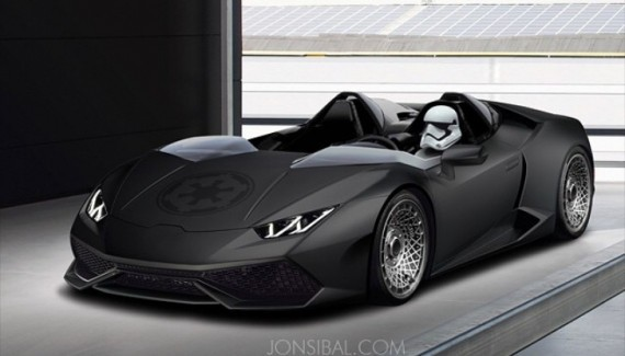 lamborghini huracan stormtrooper edition awakens the force autoevolution. Black Bedroom Furniture Sets. Home Design Ideas