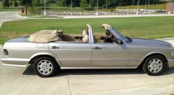 Mercedes benz 560 sel w126 four door convertible autoevolution