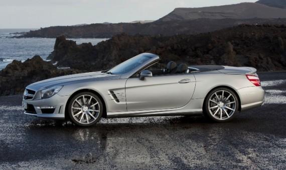 """Mercedes-Benz SL 63 AMG"": автомобiль, вартий уваги"