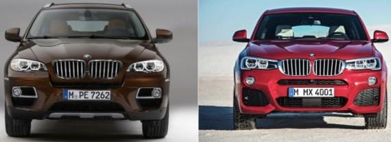 Photo Comparison: BMW F26 X4 Vs BMW E71 X6