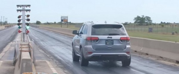 1 200 Hp Jeep Grand Cherokee Trackhawk Does 9 6s 1 4 Mile Ties