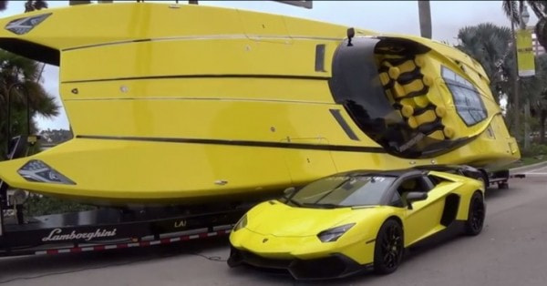 $1.3 Million Lamborghini Boat Has 2,700 HP and Aventador