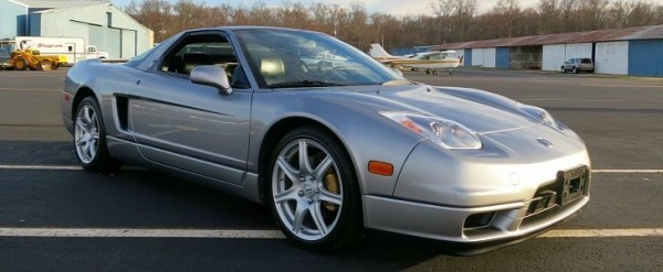 2002 Acura NSX Targa With Only 7,500 Miles for Sale on eBay