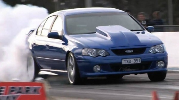 2004 Ford Falcon Xr6 Runs 10 Second Quarter Mile Autoevolution