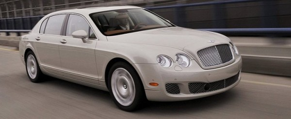 2007-2008 Bentley Continental Flying Spur Recalled For Sunroof Fix