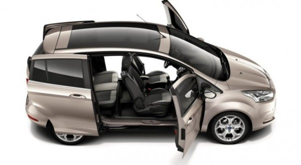 2012 Ford B Max Easy Access Door System Revealed Autoevolution